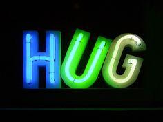 Your hug makes me smile! Neon Light Signs, Neon Signs, Sign O' The Times, Neon Moon, Neon Words, Single Words, Neon Lighting, Homestuck, Light Art