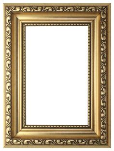 "Gold - 6"" x 4"" Ready to hang or stand Ornate Shabby Chic Picture/Photo/Poster frame with High Clarity Styrene Shatterproof Perspex Sheet & MDF backing board"