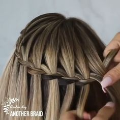 Braids For Short Hair, Easy Hairstyles For Long Hair, Cute Hairstyles, Hairstyles Videos, Updo Hairstyle, Wedding Hairstyles, Simple Braided Hairstyles, Loose Braids, Quinceanera Hairstyles