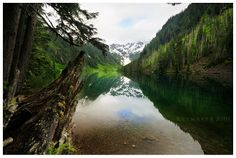 Goat Lake - Henry M. Oregon Washington, Pacific Northwest, North West, Wilderness, Waterfall, River, Landscape, Lakes, Outdoor