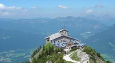 The Eagle's Nest, above Berchtesgaden. This was once Hitler's personal retreat, but now is a restaurant and pretty cool tourist attraction. AMAZING views of the surrounding mountains.