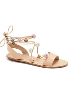 Because it's summer and your feet could use a break, here are 25 of the best flat sandals you can buy now and wear all season, whether you're into slides, ankle-strap sandals, or gladiators. Nude Sandals, Ankle Wrap Sandals, Sport Sandals, Lace Up Sandals, Flat Sandals, Shoes 2016, Women's Shoes, Business Casual Outfits For Women, Best Flats