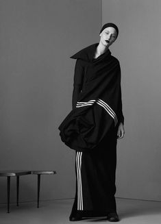 """Yohji Yamamoto: A Retrospective, Melina Gesto by Dario Catellani for Bon, Spring/Summer 2015 """