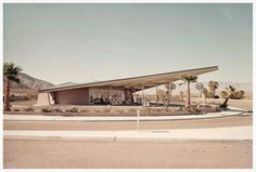 Albert Frey's Tramway Gas Station is one of the most well-known service station designs in the world. Description from blog.modernica.net. I searched for this on bing.com/images