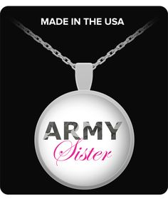 Army Sister - Necklace
