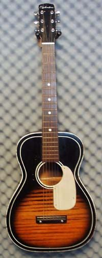 just like the guitar I learned to play on - Sears Silvertone
