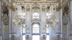 Znalezione obrazy dla zapytania nymphenburg palace interior