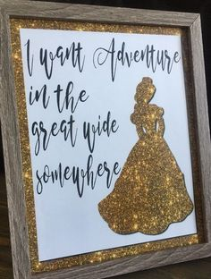 FREE PRINTABLE*** Beauty and the Beast quotes. Princess Belle quote. Beauty and the Beast lyrics. Home Decor