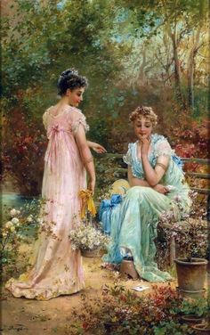 Hans Zatzka - artwork prices, pictures and values. Art market estimated value about Hans Zatzka works of art. Email alerts for new artworks on sale Victorian Paintings, Victorian Art, Victorian Ladies, Vintage Ladies, Classic Paintings, Beautiful Paintings, Vintage Pictures, Vintage Images, Renaissance Kunst