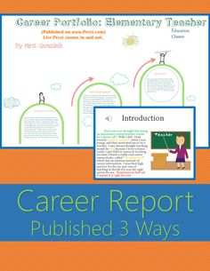 7 Best 2014 Class Electronic Career Portfolio images | Teaching