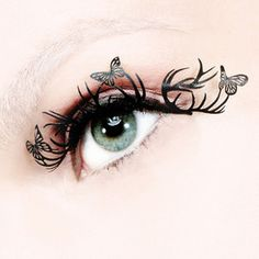 Paper Lashes To Flutter
