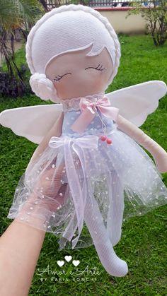 Best 11 Handmade cloth doll RagdollCloth dollShabby by lunnitastudio – SkillOfKing. Doll Sewing Patterns, Sewing Dolls, Fabric Dolls, Paper Dolls, Felt Crafts, Fabric Crafts, Rag Doll Tutorial, Felt Baby, Soft Dolls