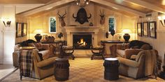 Trophy Room - Huka Lodge | Taupo Luxury Retreat | New Zealand