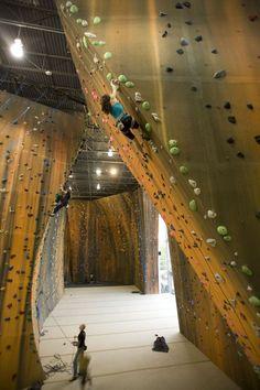 Climbing at the gym - Indoor Climbing