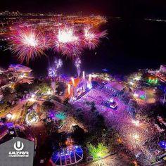 Ultra Music Festival Miami 2013 - visão aérea