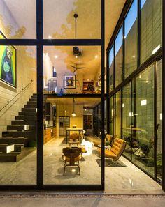 Taller Estilo Arquitectura Uses Raw Materials to Create a Stunning Contemporary Home in Mérida, México | HomeDSGN