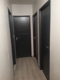 couloir gris anthracite aur lie hemar id es d co pinterest d co. Black Bedroom Furniture Sets. Home Design Ideas
