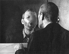 Dieter Appelt     Der Fleck auf dem Spiegel (1978)  Gelatin Silver  h: 50 x w: 60 cm / h: 19.7 x w: 23.6 in