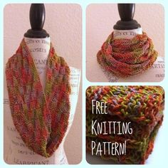 Viva Glitz Cowl Free Knitting Pattern There's a lot to like about Viva Glitz yarn. This hand dyed yarn...