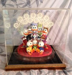 DISNEY CARL BARKS LAVENDLACE LIMITED EDITION FIGURINE FROM D23 EXPO 2009 AUCTION