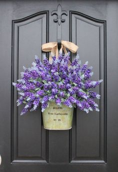Pretty door hanging.