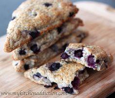 Blueberry Scones | my kitchen addiction
