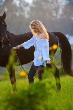 Nature ~ Girl & Horse