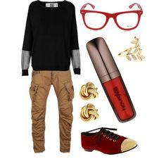 """""""Casual Geek"""" by jennadsouza on Polyvore"""