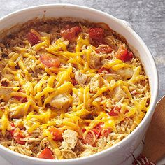 I love anything Text Mex and this Casserole sounds incredible!  I love that I can make it up to 24 hours ahead of time!!