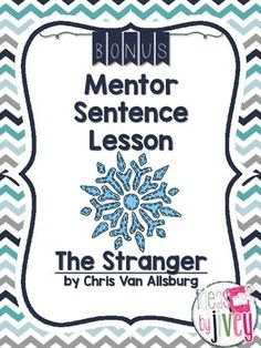 Flipping For Fall Mentor Texts: The Stranger