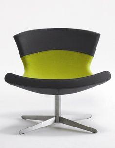 Jet Lounge Chair by Busk Hertzog #HighTower #FurnishingVision