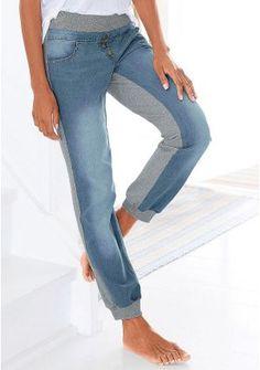 Джинсы цвет: джинсовый/серый меланжевый арт: 531565263 купить в Интернет магазине Quelle за 2199.00 руб - с доставкой по Москве и России