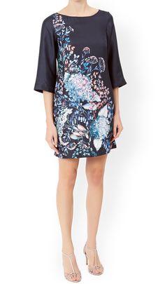MONSOON Hilary Silk Dress.  UK14 EUR42, UK16 EUR44 & UK18 EUR46  MRRP: £99.00GBP - AVI Price: £57.00GBP