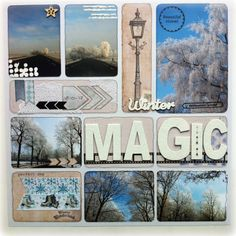 Blue Barn Creatief: ProjectLife - Winter Magic
