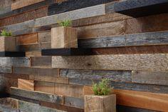 Arte de madera de la pared con estantes de por CarpenterCraig