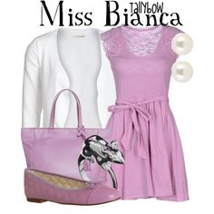 """""""Miss Bianca"""" by tallybow on Polyvore"""