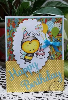 Kitty Bee Designs: DT Spotlight - Diane