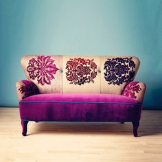 Damask Patchwork Sofa, £2,193, now featured on Fab.