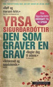 Den som graver en grav av Yrsa Sigurdardóttir (Heftet)
