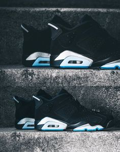 """A Closer Look at the Air Jordan 6 Retro Low """"Chrome""""  The OG 1991 release gets murdered out in all-black."""