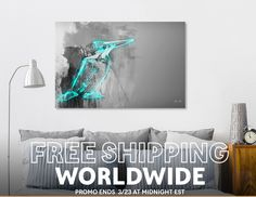 Discover «bird Kingfisher», Limited Edition Canvas Print by Elyar Safarov - From $75 - Curioos