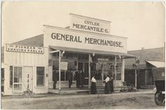 Cutler Mercantile Co. Building, which contains the Cutler Post Office, Cutler Mercantile general merchandise store, Tulare County Free Publi...
