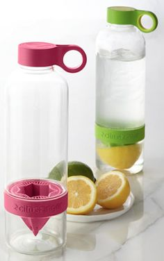 love this citrus squeeze water bottle http://rstyle.me/n/ueny5r9te