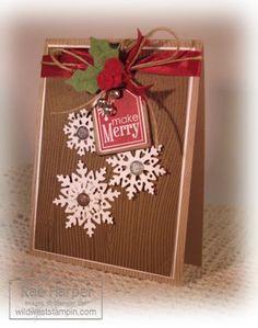 Snowflake Stampin' Up card