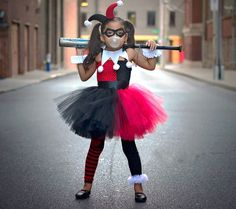 Harley Quinn Children Cosplay Costume Girls Tutu Dress with Headband Kids Party Dresses for Birthday Halloween Christmas Summer We offers a wide selection of trendy style women's clothing. Affordable prices on new tops, dresses, outerwear and more. Kids Tutu, Tutus For Girls, Dresses Kids Girl, Girls Party Dress, Girl Outfits, Party Dresses, Long Dresses, Kids Girls, Summer Dresses