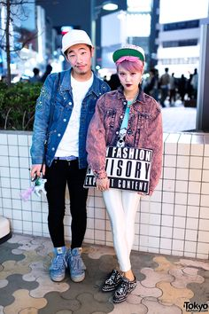 This girl's style is just perfect. From her hair to her clothes to her make up. Harajuku.