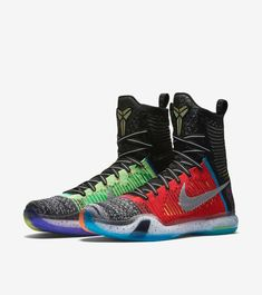 Latest information about Nike Kobe 10 Elite What The. More information about Nike Kobe 10 Elite What The shoes including release dates, prices and more. Kobe Elite, Nike Factory Outlet, Nike Outlet, Kobe Sneakers, Basketball Shoes Kobe, Nike Shoe Store, Nike Kobe, New Sneaker Releases, Kobe 10