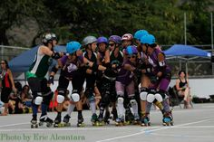 """This Friday & Saturday, June 28 & 29: Maui Roller Girls host """"Battle of the Islands"""""""