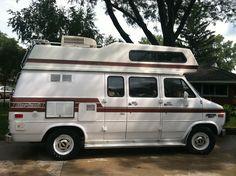 Our 1989 Chevy Horizon Camper Van.