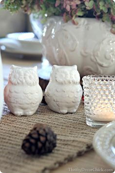 Adorable owl salt and pepper shakers